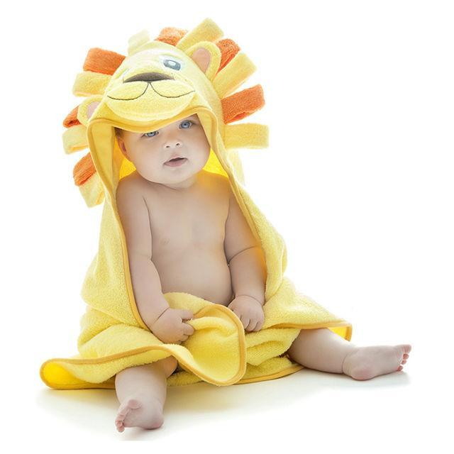 """<p>Once bathtime is over, give mom the most picture-worthy towel to wrap her little one in. <em>(Hooded lion towel, LITTLE TINKERS WORLD, $20</em>)</p><p><a rel=""""nofollow noopener"""" href=""""https://www.amazon.com/Little-Tinkers-World-Natural-30x30-Inch/dp/B071RKB6JF/?tag=syndication-20"""" target=""""_blank"""" data-ylk=""""slk:BUY NOW"""" class=""""link rapid-noclick-resp"""">BUY NOW</a></p>"""