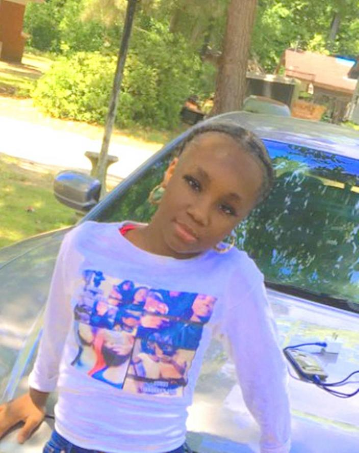 Aleyah Baker, 13, was reported missing by the Sumter County Sheriff's Office.