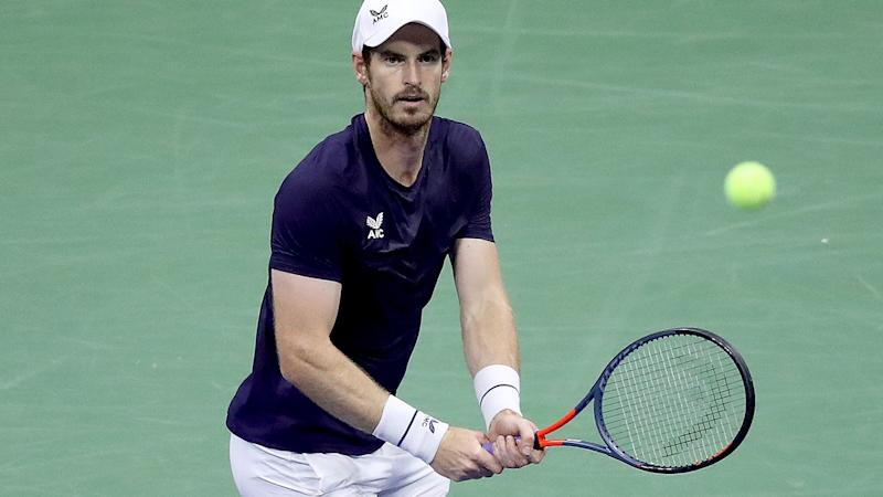 Andy Murray, pictured here in action at the US Open.