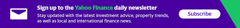 Make your money work with Yahoo Finance's daily newsletter. Sign up here and stay on top of the latest money, news and tech news.