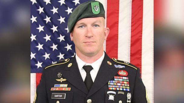 PHOTO: Green Beret Sgt. Maj. James Sartor was killed in Afghanistan, July 13, 2019. (U.S. Army)