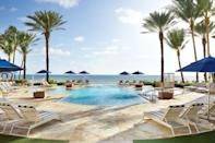 """<p>Paging Slim Aarons! The glittering, sweeping pools at this glamorous <a href=""""https://www.cntraveler.com/story/the-perfect-weekend-in-palm-beach?mbid=synd_yahoo_rss"""" rel=""""nofollow noopener"""" target=""""_blank"""" data-ylk=""""slk:Palm Beach"""" class=""""link rapid-noclick-resp"""">Palm Beach</a> favorite are nothing short of panoramic—and with a day pass, you too can make the most of them. <a href=""""https://www.cntraveler.com/hotels/palm-beach/eau-palm-beach-resort-and-spa?mbid=synd_yahoo_rss"""" rel=""""nofollow noopener"""" target=""""_blank"""" data-ylk=""""slk:Eau Palm Beach Resort & Spa"""" class=""""link rapid-noclick-resp"""">Eau Palm Beach Resort & Spa</a> (<em>rooms from $934</em>) features the only ocean front cabanas on Palm Beach Island, and valet parking is included when you book a day passthrough ResortPass for $119.</p> <p><strong>Reserve a spot</strong>: <a href=""""https://www.resortpass.com/hotels/eau-palm-beach"""" rel=""""nofollow noopener"""" target=""""_blank"""" data-ylk=""""slk:resortpass.com"""" class=""""link rapid-noclick-resp"""">resortpass.com</a></p>"""