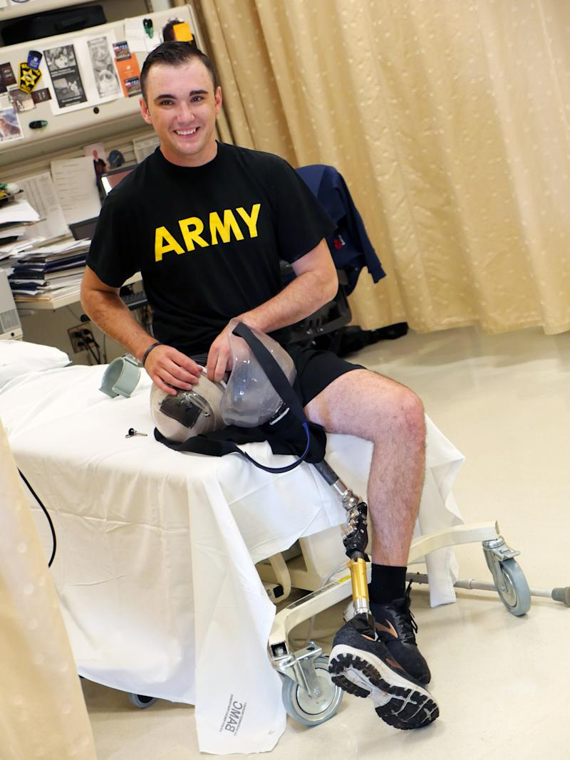 Soldier, 21, Severs Own Leg to Save Crew After Tank Crashes: 'Either I Step Up or We All Die'