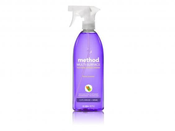 A daily spray and wipe with this surface cleanser will keep germs at bay (Method)