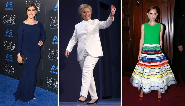 Obviously, these conservatively dressed women didn't make the photo cut.