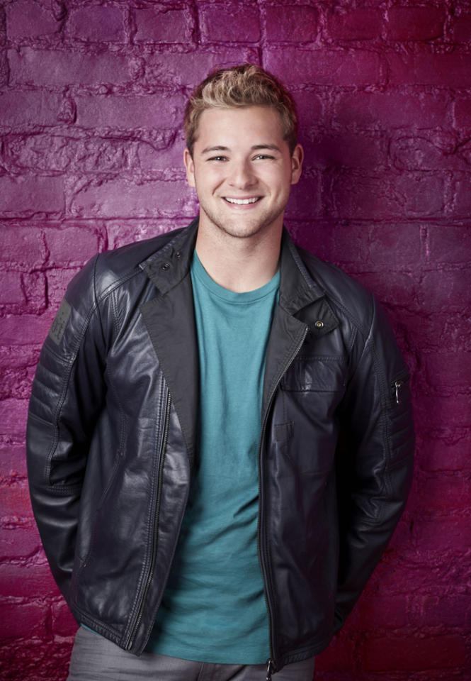 """Will Thomas (19), is a Contemporary dancer from Troy, MI, on """"So You Think You Can Dance."""""""