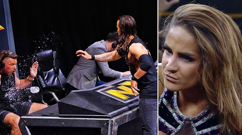 WWE NXT Aug 5, 2020 Results and Highlights: Former All-Pro NFL Punter Pat McAfee Hits Adam Cole With a Punt; Dakota Kai to Face Io Shirai For NXT Women's Title at TakeOver XXX (View Pics)