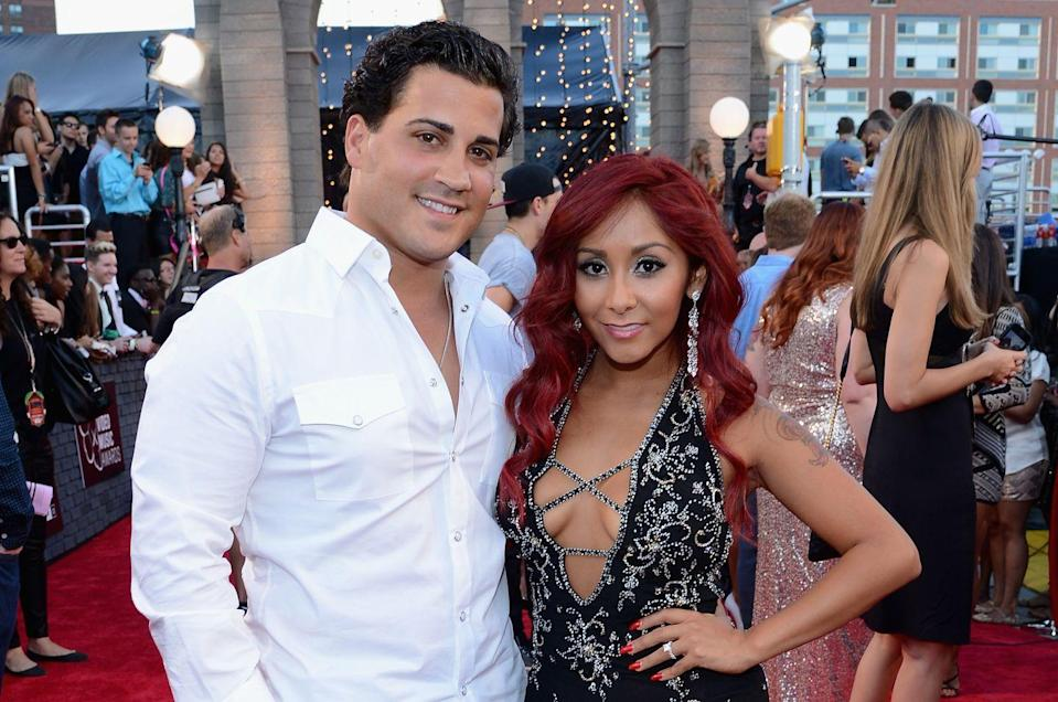 <p>It was the summer of 2010, the cabs were there and Snooki was living with her housemates on season 3 of <em>Jersey Shore</em>. The reality star met Jionni LaValle at a nightclub and the rest is <em>amore</em>. The couple welcomed their first son, Lorenzo, in 2012 and married two years later. Since then, they've had two more little meatballs, Giovanna and Angelo.</p>