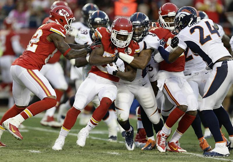Chiefs' Charles breaking records