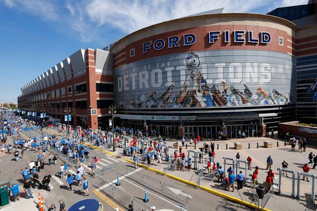 Could Detroit and Ford Field be a future host for the NFL draft? (AP Photo)