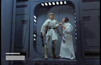 """<p>""""To capture this moment, I built a diorama and tried to accurately match the camera angle and lighting. I wanted to highlight the new Black Series action figures that Hasbro created through dynamic posing, which helped bring the shot to life."""" (Photo: <a href=""""https://www.instagram.com/workmoreorless/"""" rel=""""nofollow noopener"""" target=""""_blank"""" data-ylk=""""slk:@workmoreorless"""" class=""""link rapid-noclick-resp"""">@workmoreorless</a>/Hasbro) </p>"""