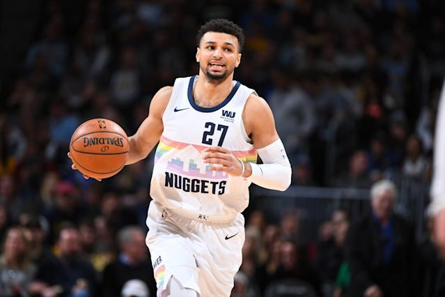Jamal Murray is coming into his own with the up-and-coming Nuggets. (Getty Images)