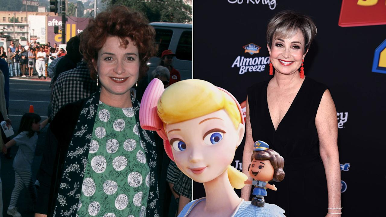 After sitting out <em>Toy Story 3</em>, Annie Potts returns to the franchise as Bo Peep. Her disappearance and return as a strong independent character plays a big part in <em>Toy Story 4</em>.