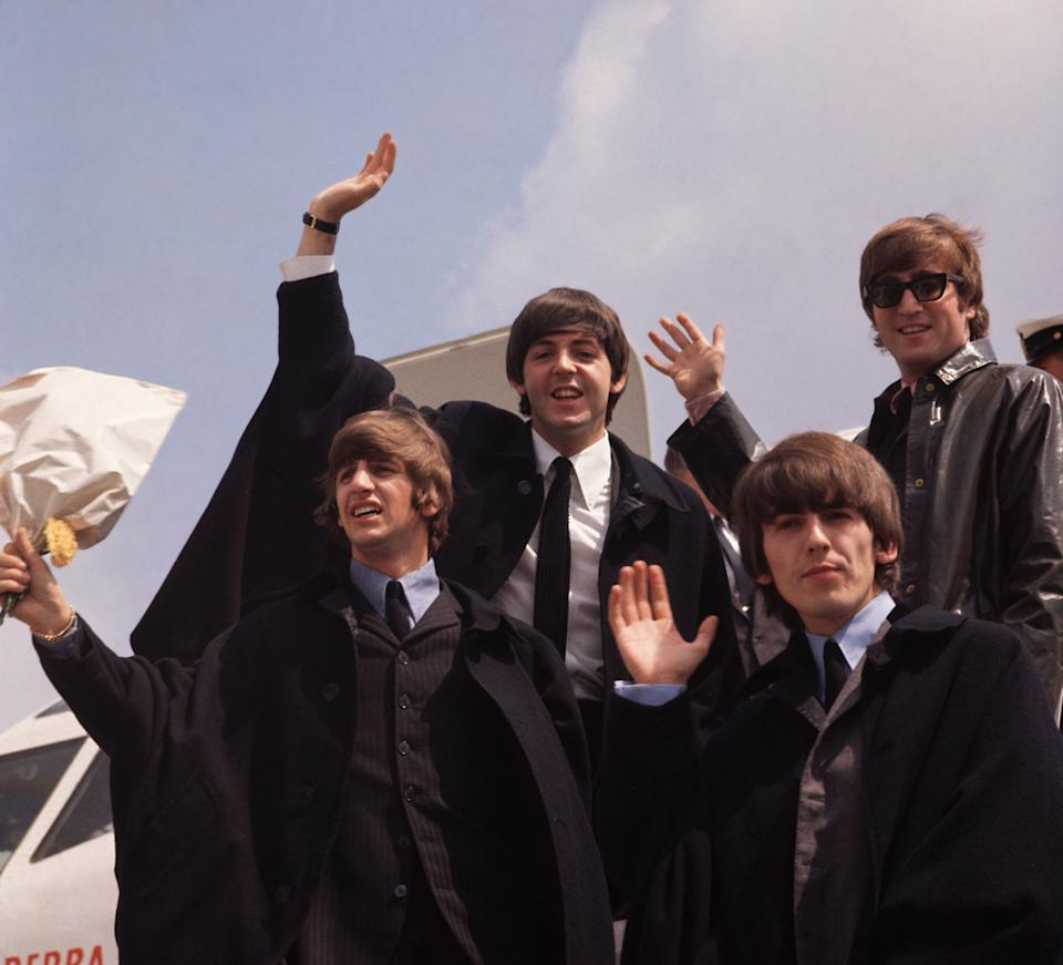 The Beatles in 1964. (Photo: Fox Photos/Getty Images)