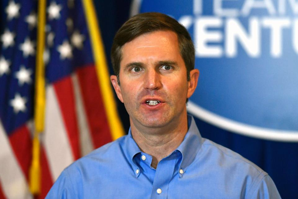 Upon taking office in 2019, Kentucky Gov. Andy Beshear (D) restored voting rights to many people who had served felony sentences, but advocates say it's far short of what's needed to overcome the huge disenfranchisement gap in the state. (Photo: Timothy D. Easley/AP)