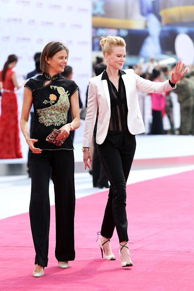Antonia Kidman, 49, is the younger sister Nicole Kidman, who is three years her senior. The pair are often seen at red carpet events together. <em>[Photo: Getty]</em>