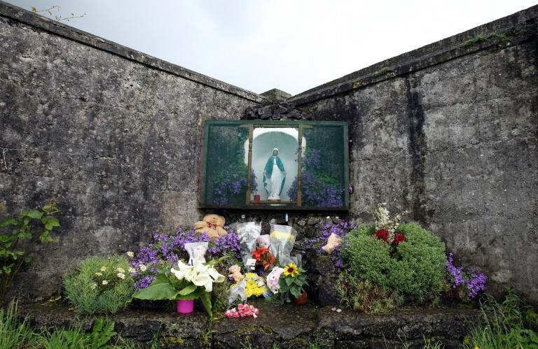 Memorials have sprung up to the women and children who died at the homes