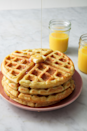"""<p>Light, fluffy, and slightly crispy on the outside, these waffles are PERFECT. </p><p>Get the recipe from <a href=""""https://www.delish.com/cooking/recipe-ideas/a19880088/best-homemade-belgian-waffles-recipe/"""" rel=""""nofollow noopener"""" target=""""_blank"""" data-ylk=""""slk:Delish.com"""" class=""""link rapid-noclick-resp"""">Delish.com</a>. </p>"""