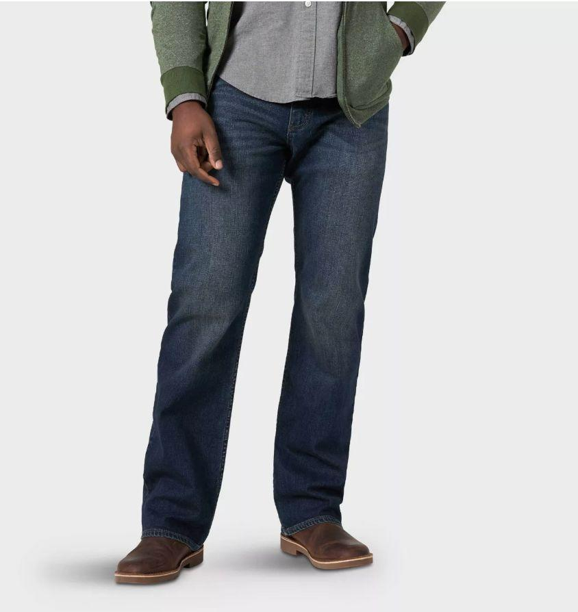 """We had to do a double-take when we saw the price of these jeans. The affordable pair are made from a stretch denim fabric and feature a bootcut style. <a href=""""https://fave.co/3a0E8h5"""" target=""""_blank"""" rel=""""noopener noreferrer""""><strong>Find this pair at Target</strong></a>."""