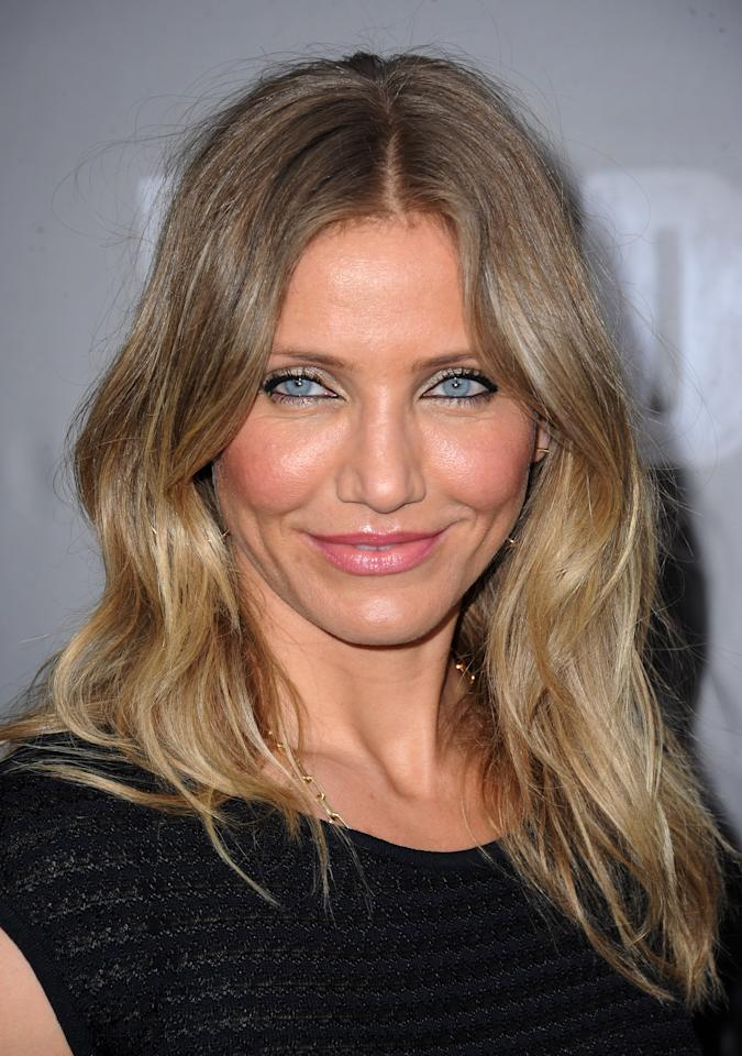 "FWD105 Cameron Diaz attends the premiere of ""Bad Teacher"" in New York on Monday, June 20, 2011."