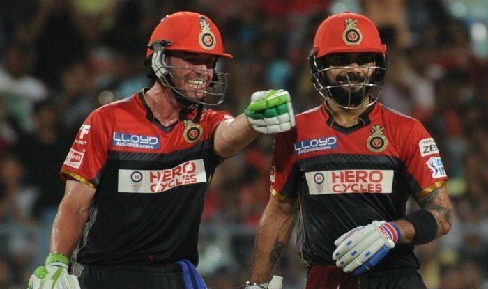 Both Kohli and De Villiers, for now, have all their focus fixed on RCB and their run in the 2018 IPL.