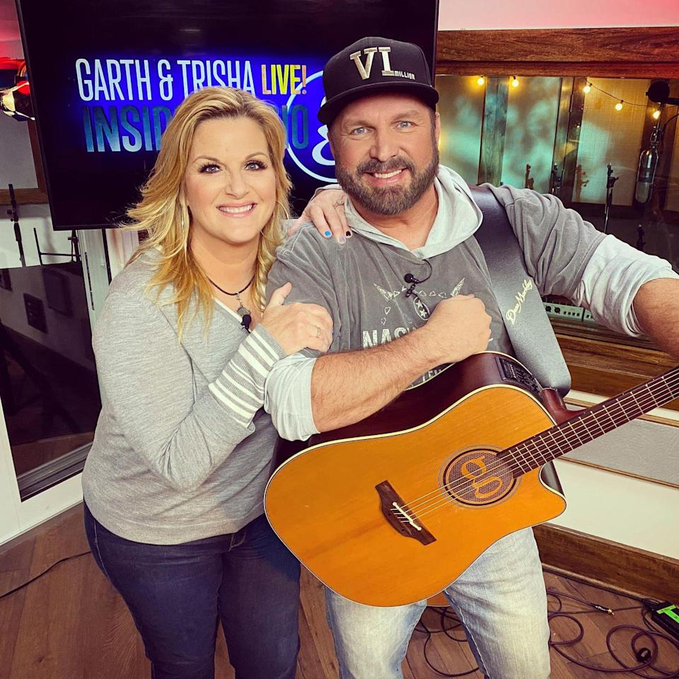 "<p>After Trisha performed ""If It Hadn't Been for Love"" by the Steeldrivers, Garth joked that it wasn't the first time he'd heard the song lately.</p><p>""If anybody wants to know what (my) home life's like … she'll just be doing the dishes and break into that song. It kills me,"" he teased.</p>"