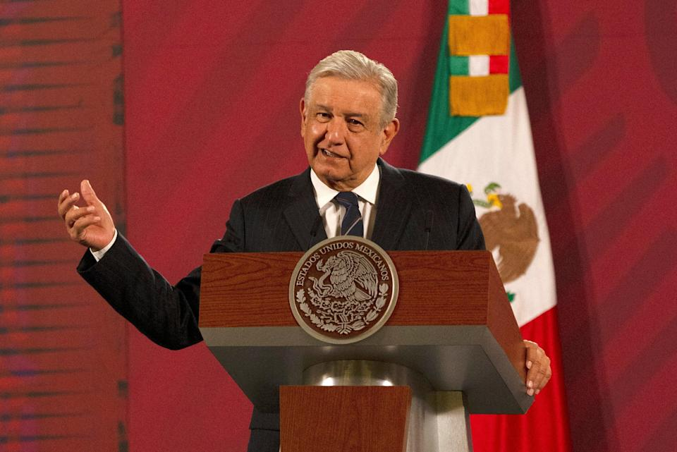 Mexico Lopez Obrador (Copyright 2020 The Associated Press. All rights reserved.)