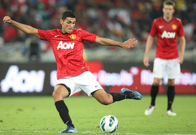 Davide Petrucci was unable to force his way into the Manchester United first team. (Credit: Getty Images)