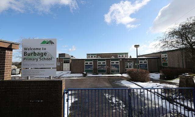 "Burbage Primary School in Leicestershire, which has been closed due to a ""confirmed case of coronavirus amongst our parent population"" (PA)"