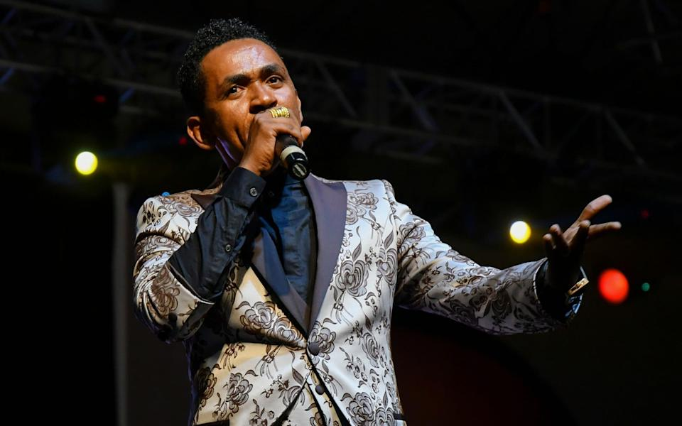 The assassination of Ethiopian singer-songwriter Hachalu Hundessa in Addis Ababa in June sparked violent riots, killing more than 80 people - STR/EPA-EFE/Shutterstock/Shutterstock