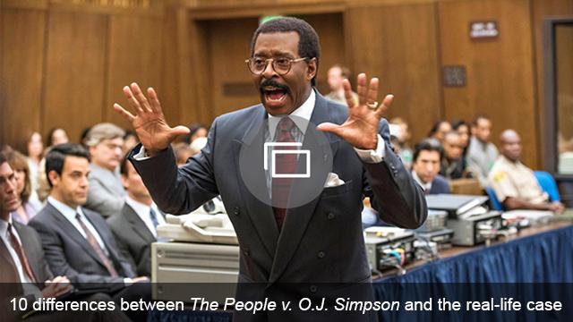OJ Simpson TV show slideshow