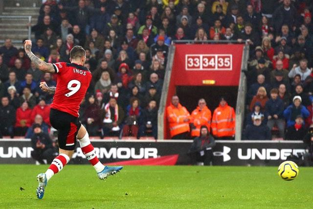 Danny Ings continued his impressive goalscoring form