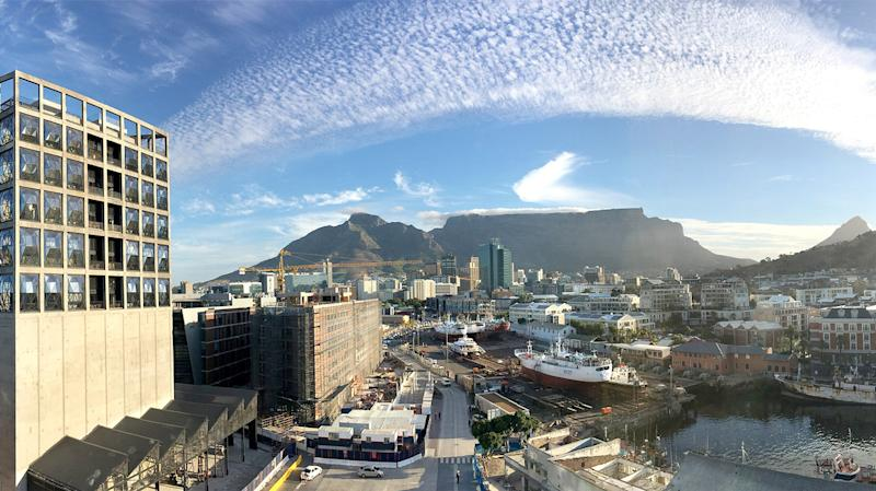 Opened today in a repurposed grain elevator in Cape Town, the Silo (the latest brainchild of the Royal Portfolio) pays homage to South Africa's agrarian roots. Formerly the tallest building in sub-Saharan Africa, the grain silo's elevator facility has been converted into a luxurious boutique hotel.