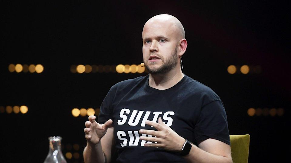 Mandatory Credit: Photo by Vesa Moilanen/Shutterstock (7529625p)Spotify co-founder and CEO Daniel EkSlush event, Helsinki, Finland - 30 Nov 2016Slush is the focal point for startups and tech talent to meet with top-tier international investors, executives and media.