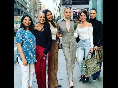 Sonali Bendre shares picture with Priyanka Chopra, Sophie Turner; thanks Quantico actress for 'lifting her spirits'