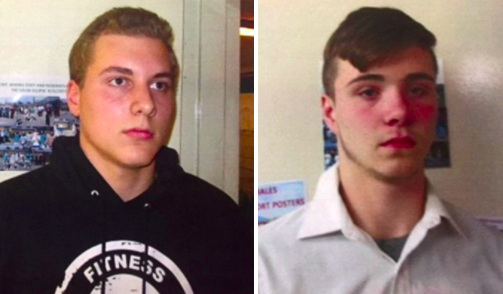 From left: Alexander Miller, 15, and Trevor Gray, 15, could face life behind bars. (Genesee County Prosecutors Office)
