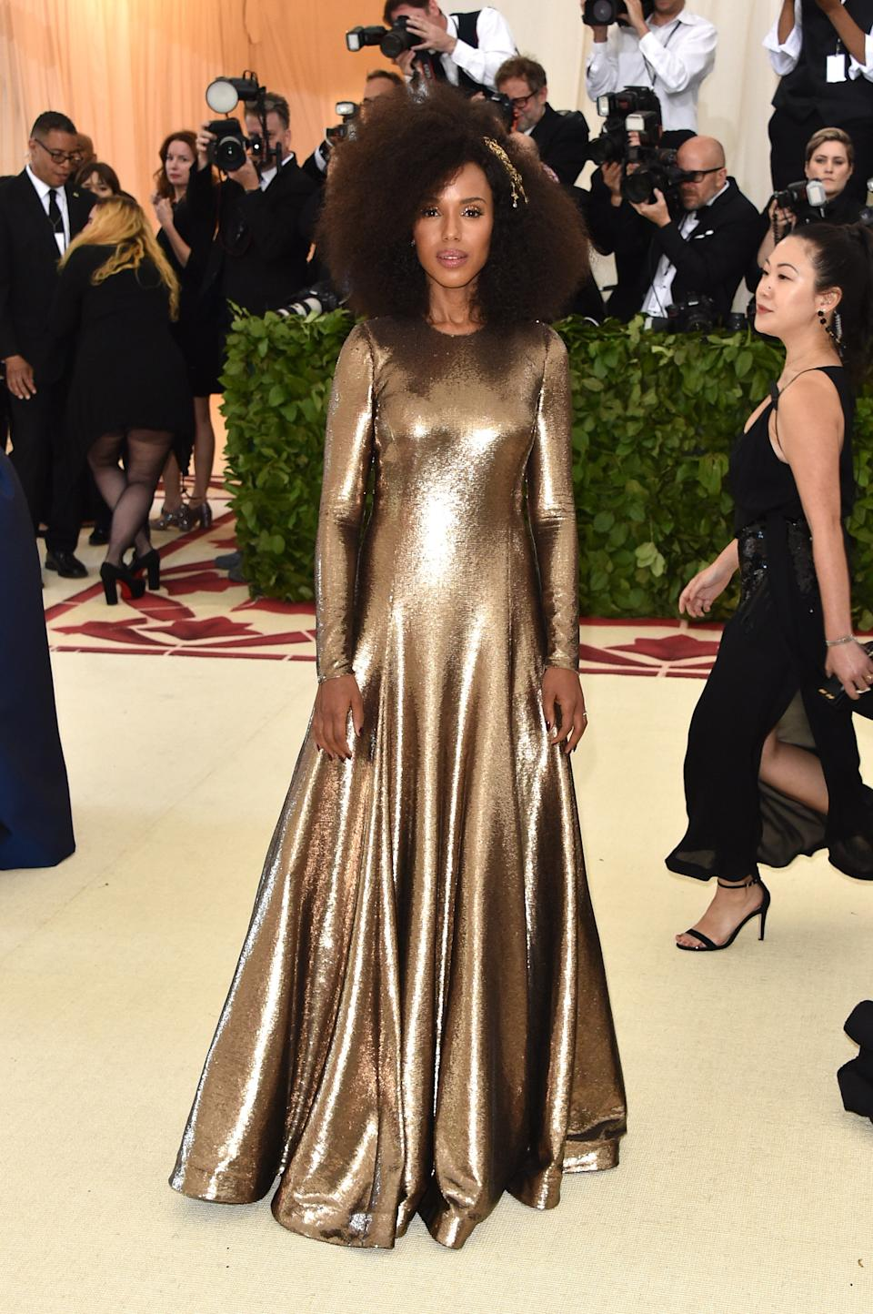 """<h1 class=""""title"""">Kerry Washington in Ralph Lauren and Lorraine Schwartz jewelry</h1><cite class=""""credit"""">Photo: Getty Images</cite>"""