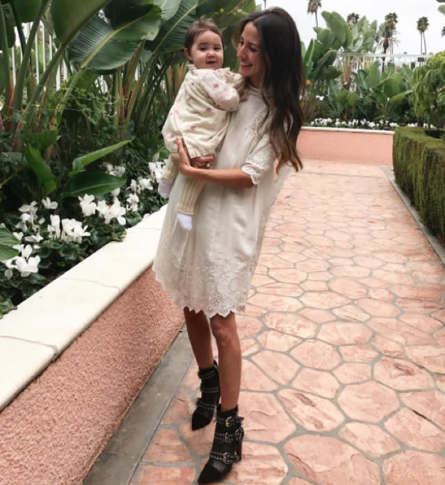 Fashion blogger asked to move out of First Class over crying baby