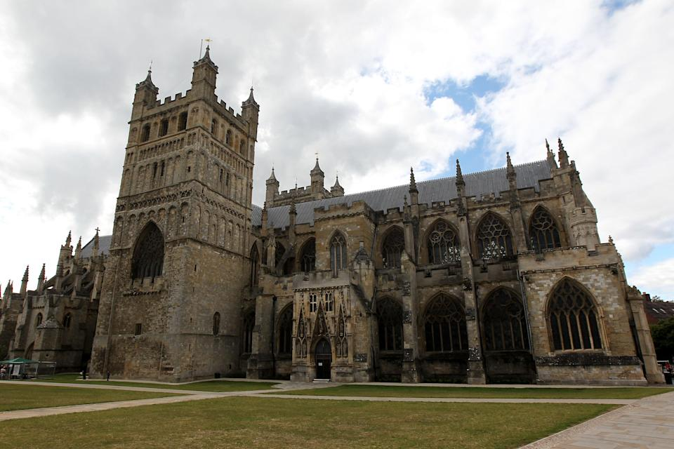Exeter Cathedral is being restored (David Davies/PA) (PA Archive)