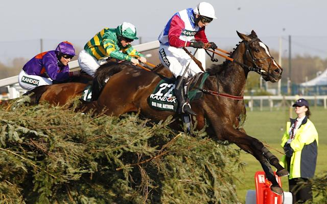 Great Scot: One For Arthur and Derek Fox win the Randox Health Grand National at Aintree - Rex Features