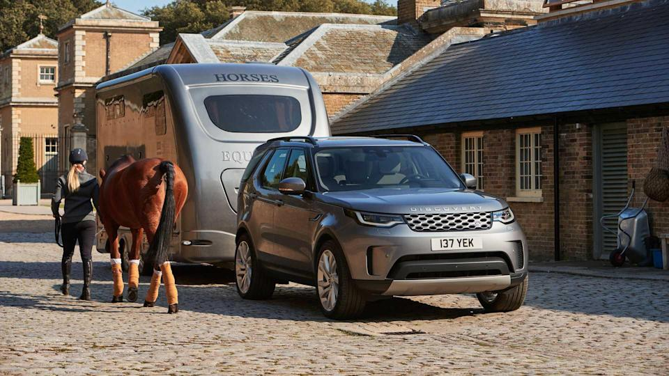 2021 Land Rover Discovery Exterior towing
