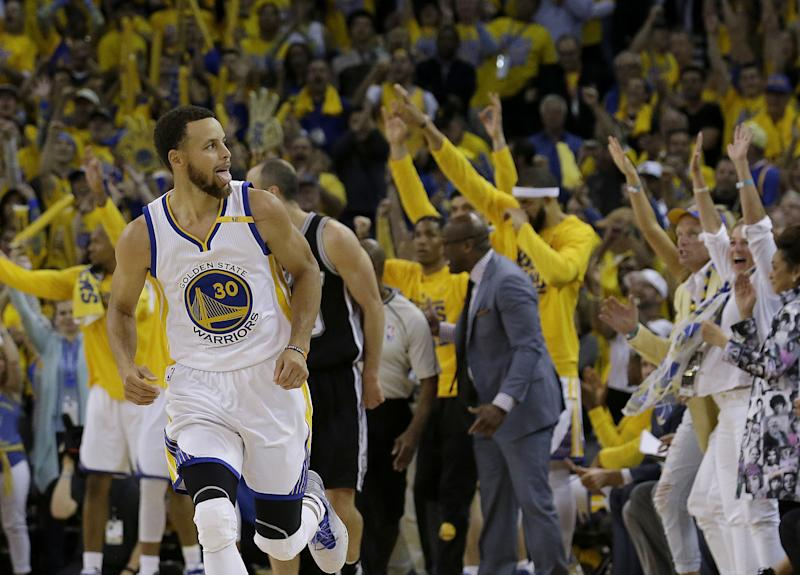 Stephen Curry is back, and looking as good as ever. (AP)