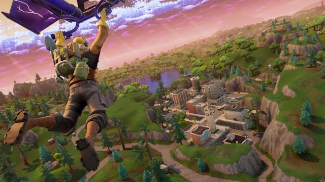 'Fortnite' is coming to the Switch. So you can take down n00bs on the go.