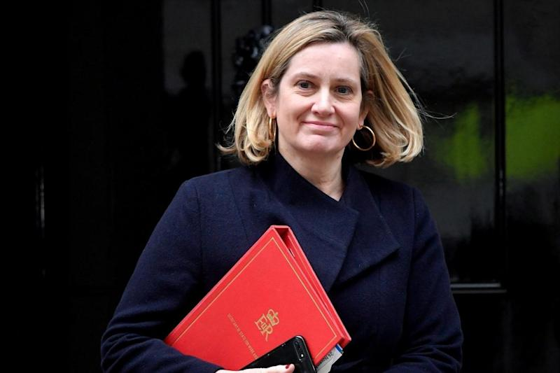 Taking a stand: Amber Rudd is the latest MP to favour a Norway-like arrangement (Reuters )