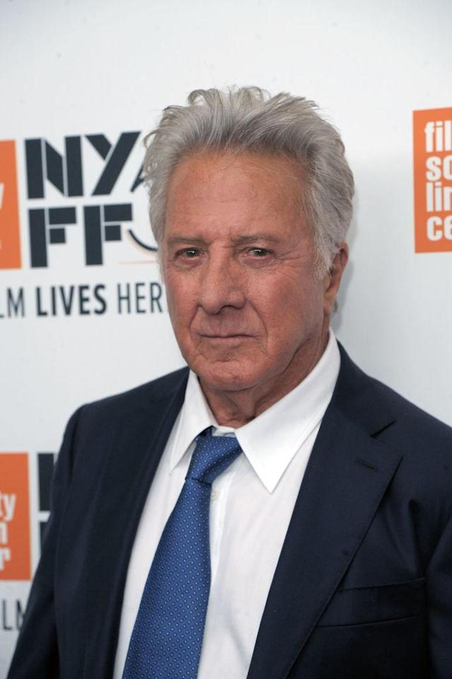 Dustin Hoffman attends screening of  <em>The Meyerowitz Stories</em> during the 55th New York Film Festival at Alice Tully Hall on Oct. 1, 2017, in New York City. (Photo: Getty Images)