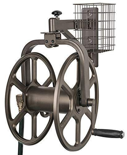 "<p><strong>Liberty Garden Multi-Directional Hose Reel</strong></p><p>amazon.com</p><p><strong>$144.72</strong></p><p><a href=""https://www.amazon.com/dp/B01I727FQO?tag=syn-yahoo-20&ascsubtag=%5Bartid%7C10050.g.35902961%5Bsrc%7Cyahoo-us"" rel=""nofollow noopener"" target=""_blank"" data-ylk=""slk:Shop Now"" class=""link rapid-noclick-resp"">Shop Now</a></p><p>This sturdy all-metal wheel pivots a full 360° to make unreeling and reeling in any direction a snap. The powder-coated metal is strong enough to last in the elements for years.</p>"