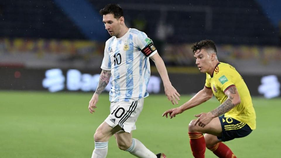 Messi ante Colombia | Gabriel Aponte/Getty Images