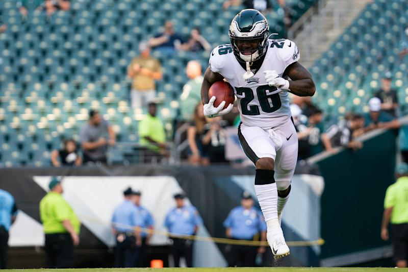 Philadelphia Eagles running back Miles Sanders