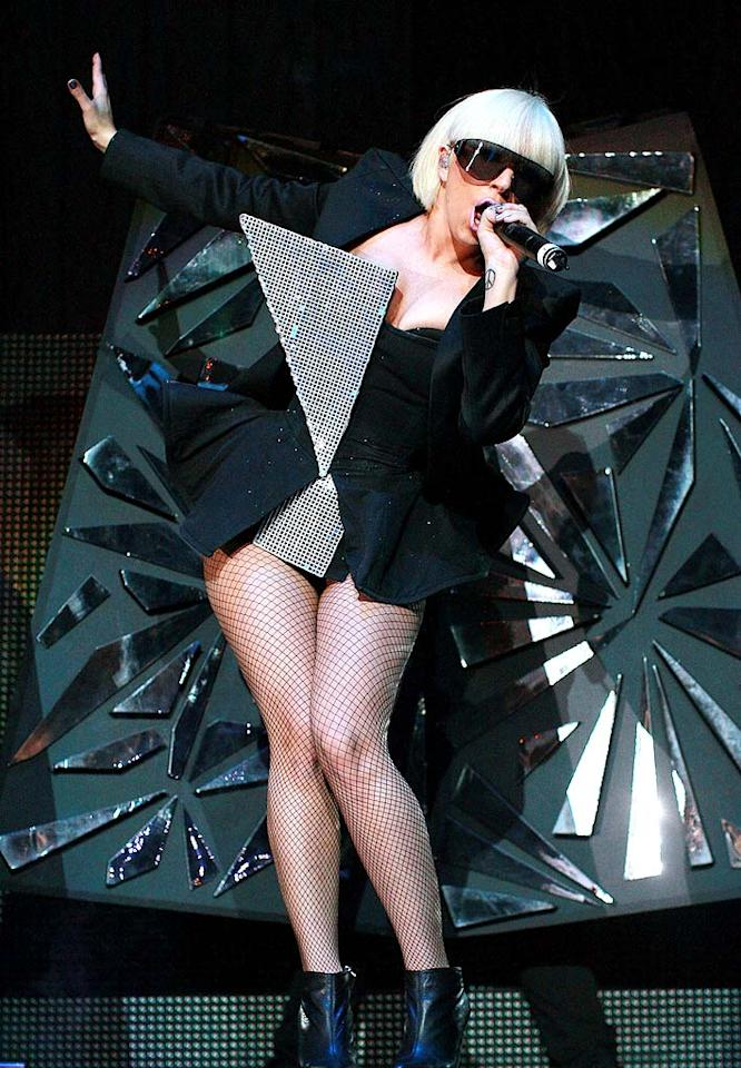 """Although she seemingly came out of nowhere, music lovers immediately went gaga for Lady Gaga's debut record, """"The Fame,"""" as well as her outlandish outfits. Hannah Johnston/<a href=""""http://www.gettyimages.com/"""" target=""""new"""">GettyImages.com</a> - May 16, 2009"""