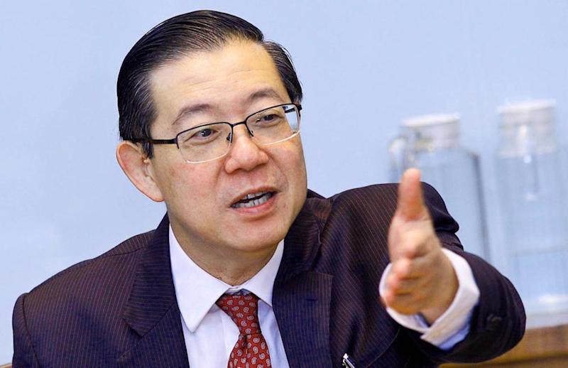 Finance Minister Lim Guan Eng announced last week the SST will not apply to flights within Sarawak or those between Kota Kinabalu and Kuching. — Picture by Sayuti Zainudin
